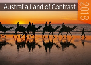 Australia Land Of Contrast 2018 Calendar