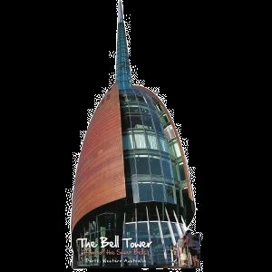 The Bell Tower Perth Western Australia (Shape Postcard) PC221