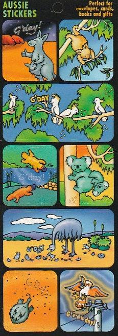 Aussie Animal Stickers ST1