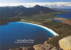Wineglass Bay Tasmania Australia Postcard PC272
