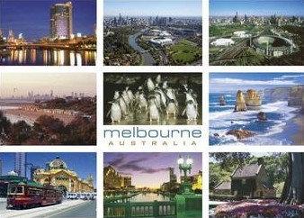 melbourne AUSTRALIA (9 Scene) PC262