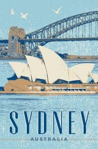 Sydney Australia (Vintage)