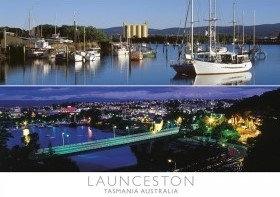 Launceston Tasmania Australia Postcard PC266