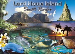 Lord Howe Island South Pacific PC245