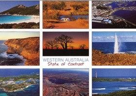 Western Australia State of Contrast (#2) Postcard PC257