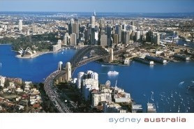 Sydney Australia (Aerial from North Sydney) PC180