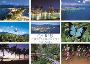 PC154 CAIRNS GREAT BARRIER REEF AUSTRALIA