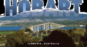 Hobart Tasmania Australia Shape Postcard PC219