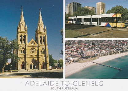 Adelaide to Glenelg South Australia PC241