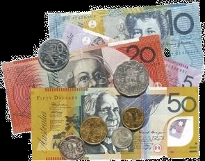Australian Money Shape Postcard PC195