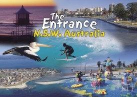 The Entrance N.S.W. Australia Postcard PC258