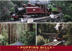 Puffing Billy Dandenong Ranges PC247