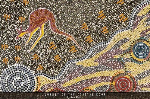 """Journey Of The Coastal Koori"" by Ron Potter"