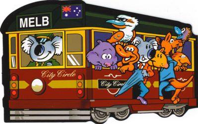 City Circle Tram Melbourne Australia (Animals)