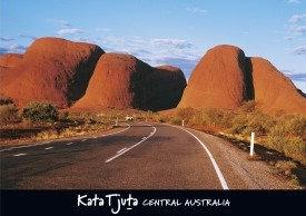 Kata Tjuta Central Australia Postcard PC276