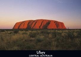 ULURU - Central Australia