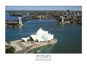 SYDNEY AUSTRALIA (Aerial East)