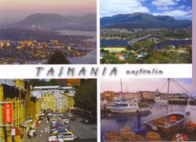 Tasmania Australia (Hobart) - Mount Nelson - Tasman Bridge and Mount Wellington - Salamanca Place & Victoria Dock