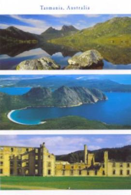 Tasmania Australia - Dove Lake and Cradle Mountain - Wineglass Bay - The Penitentiary, Port Arthur