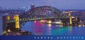 Sydney Australia - Harbour Bridge by Night PC200