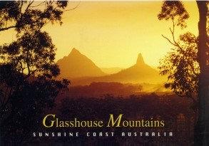 Glasshouse Mountains Sunshine Coast Australia PC206