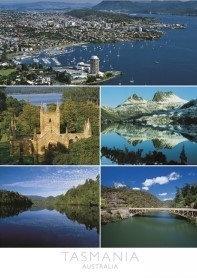 Tasmania Australia (5 scene) Postcard PC267