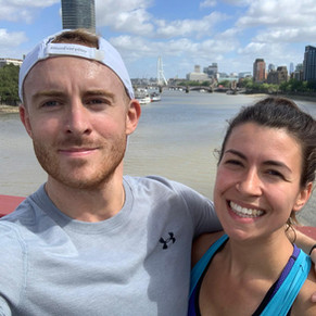 Rory and Laura did a whopping 16k - London