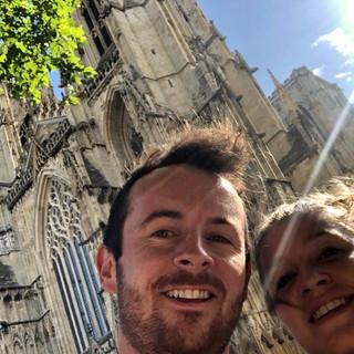 Oli and Joy in York