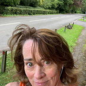 Pat did her 10k round Cheshire