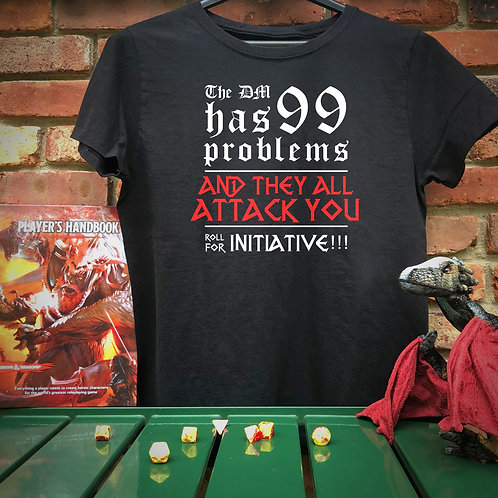 Dungeons & Dragons - 99 problems T-shirt