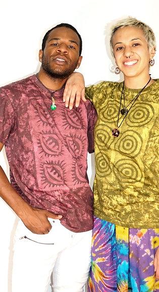 Unisex Wax Print T-Shirts