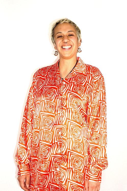 Women's Satin Shirt
