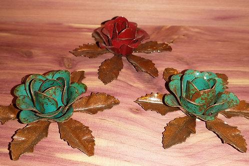 Small metal rose