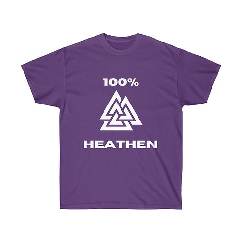 100% Heathen T-shirt