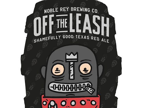 Off the Leash Keg Sticker - Set of 5