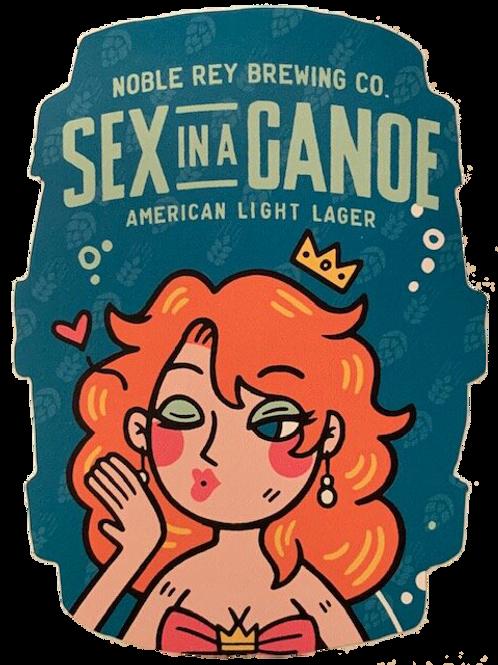 Sex in a Canoe Keg Sticker - Set of 5