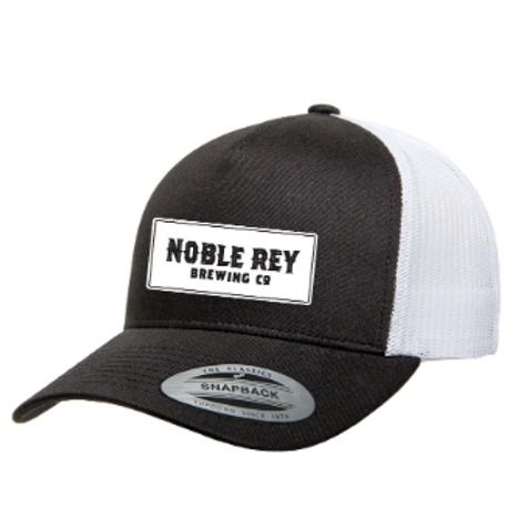 Noble Rey Trucker Cap with Sewn Patch