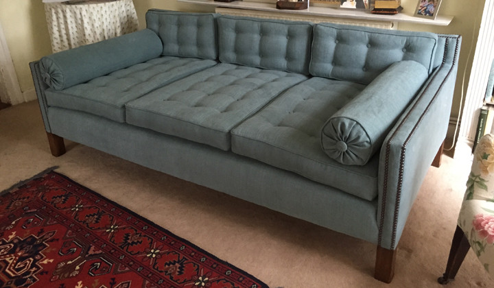 3 Seater Sofa Traditional Reupholstery