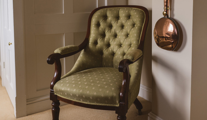 Antique Chair Traditional Restoration with Woodwork