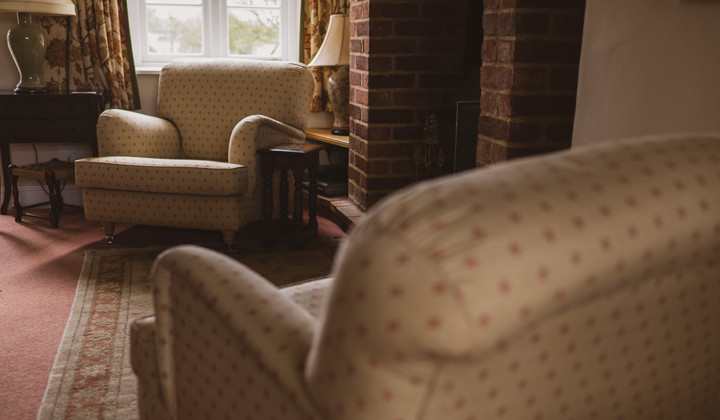 Armchair Recover in a Cosy Snug
