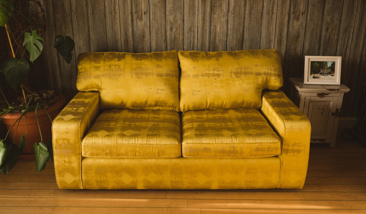 2 Seater Sofa For Downstairs Office Recover