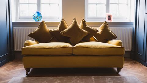 Dressing Room Sofa Reupholster