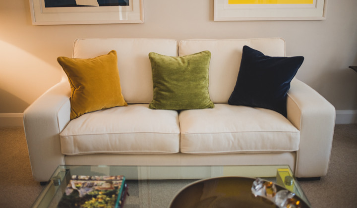Sofa Recover with Plumptious Cushions