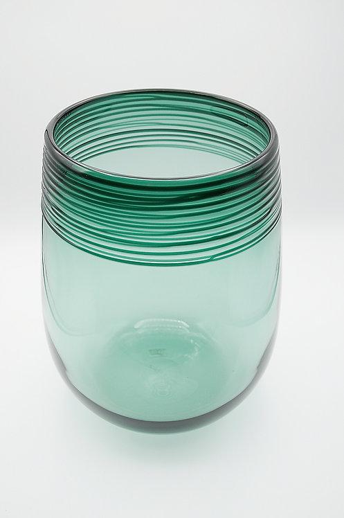 Vase jodgrün