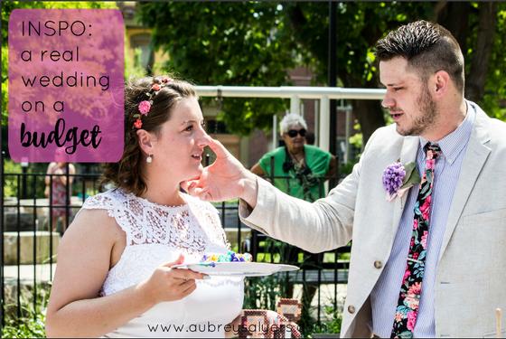 Wedding Wednesday: Real Wedding on a Budget