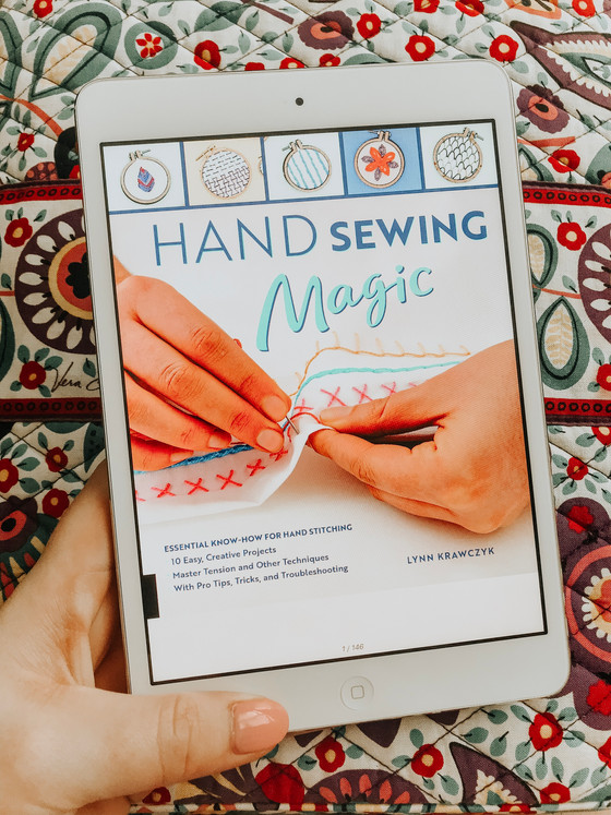HAND SEWING MAGIC by Lynn Krawczyk