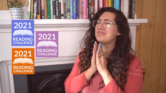 Ariel Bissett Chooses the Goodreads 2021 Reading Challenge Color!