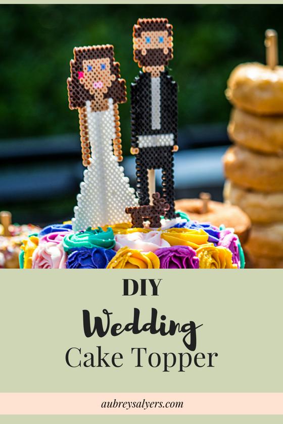 Wedding Wednesday: DIY Cake Topper
