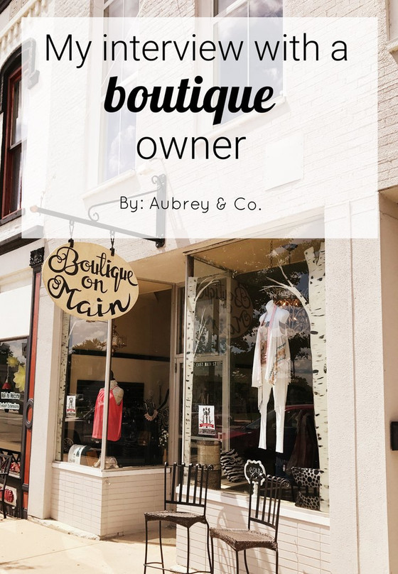 My Interview with a Boutique Owner