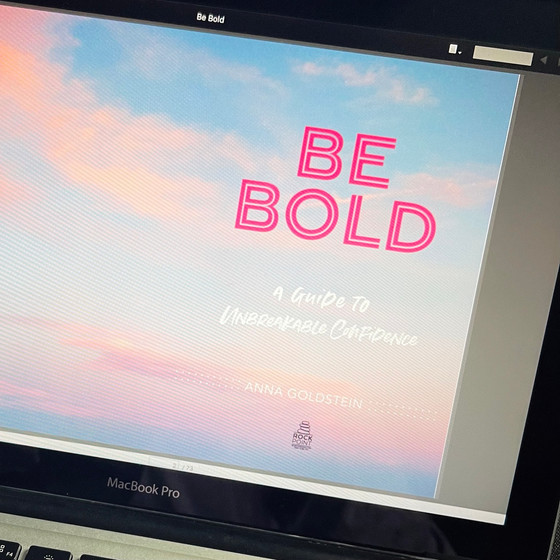 book review: BE BOLD by Anna Goldstein